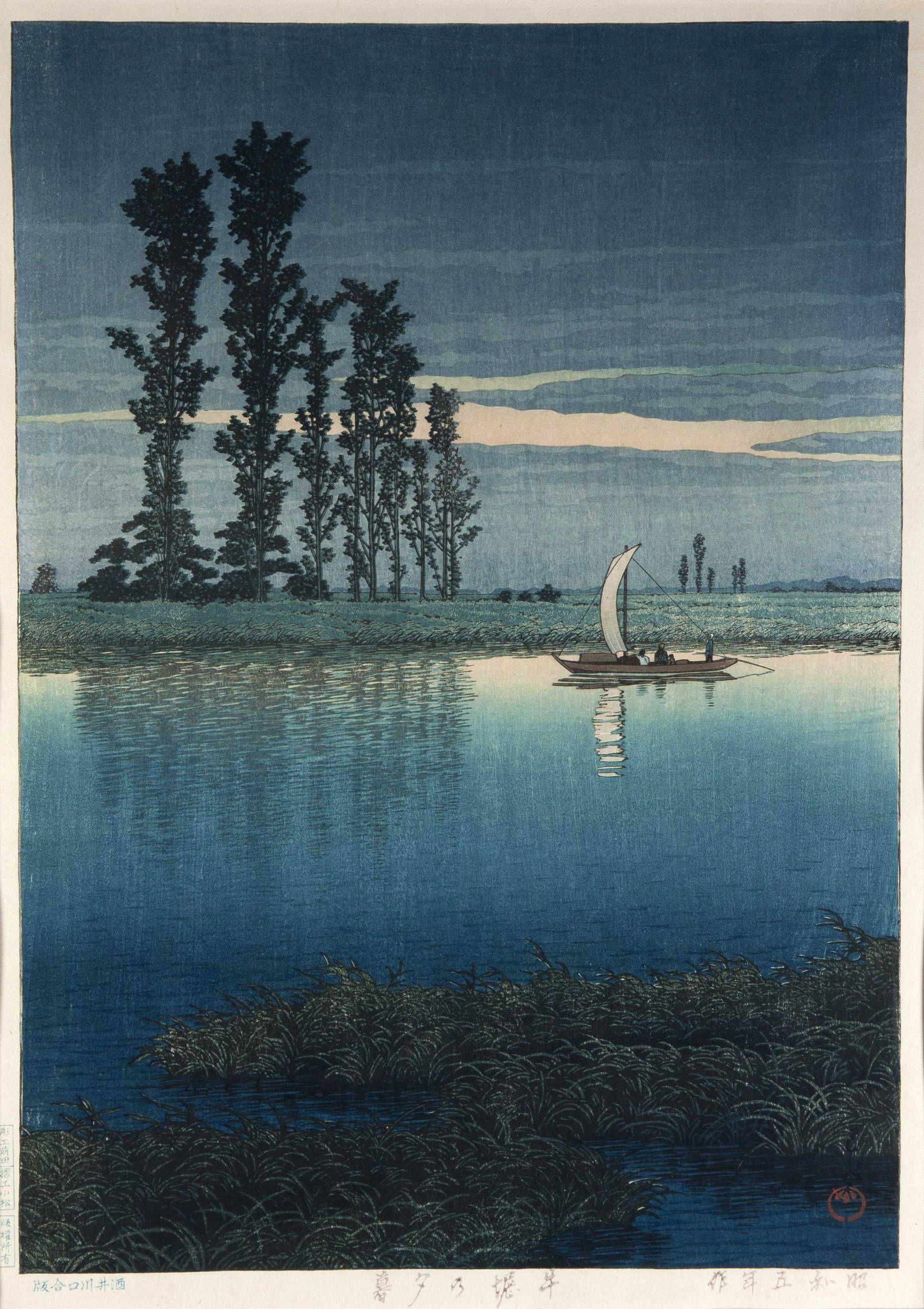 Woodblock prints by Hasui Kawase
