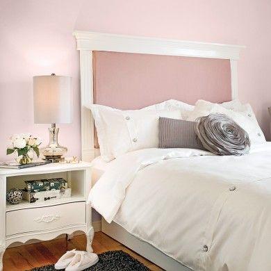 Fabriquer une tête de lit avec des moulures - En étapes - Décoration