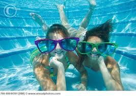 this could be 2 girls i know at the park pool