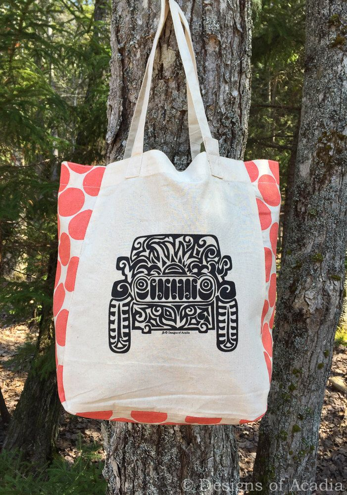 d52850368df Pin by DeeDee Murphy on J❤️❤️P | Cotton tote bags, Tote Bag, Jeep