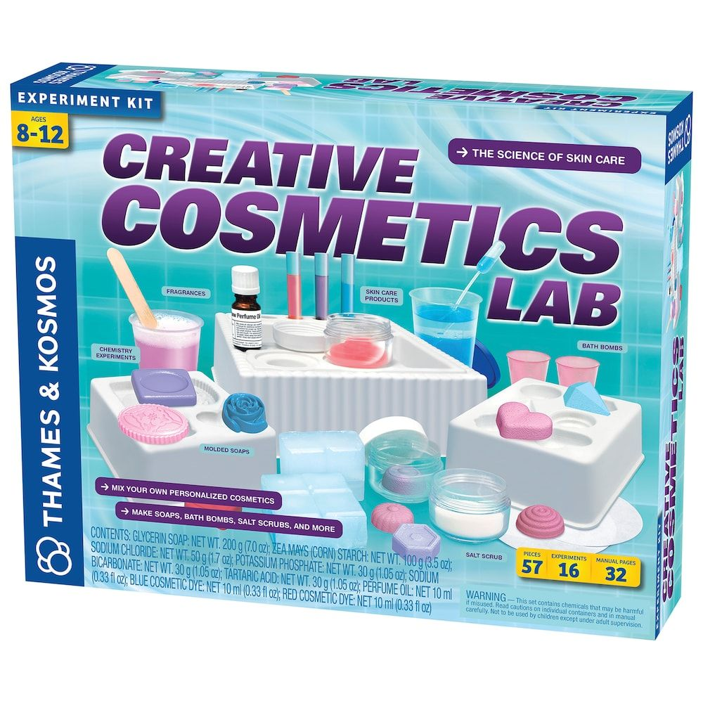 93ee179ee Thames & Kosmos Creative Cosmetics Lab Experiment Kit | Products ...