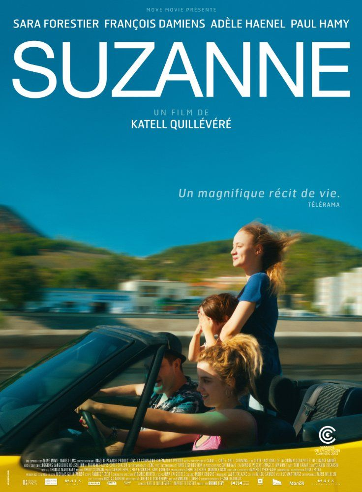 Directed by Katell Quillévéré.  With Sara Forestier, François Damiens, Adèle Haenel, Paul Hamy. The story of a family and a love affair told through the journey of a young woman called Suzanne.