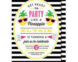 image result for pineapple invitations pineapple pool party
