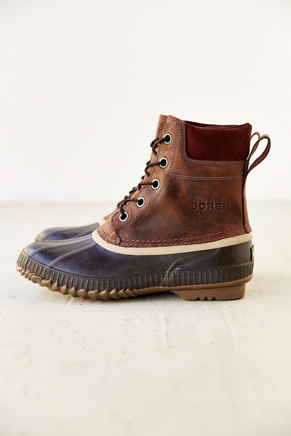 Sorel Suede Duck Boot | Boots, Duck boots, Sorel duck boots