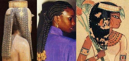 Natural Hair Styles, Egypt