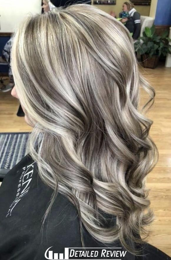 100 Dark Hair With Heavy Platinum Highlights Perfect When You Re Going Grey Pa Dark Hair Styles Blonde Highlights On Dark Hair Dark Hair With Highlights