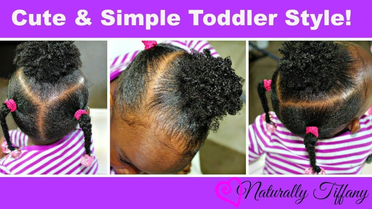 Cute And Easy Toddler Style Type 4b 4c Hair Natural Hairstyles