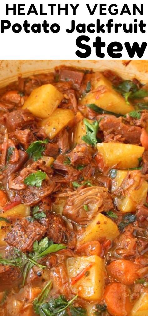 Potato Jackfruit Stew