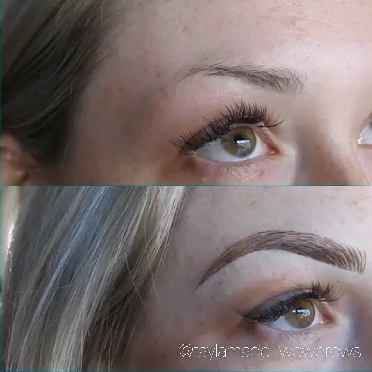 Hair stroke feather touch microblading microstroke