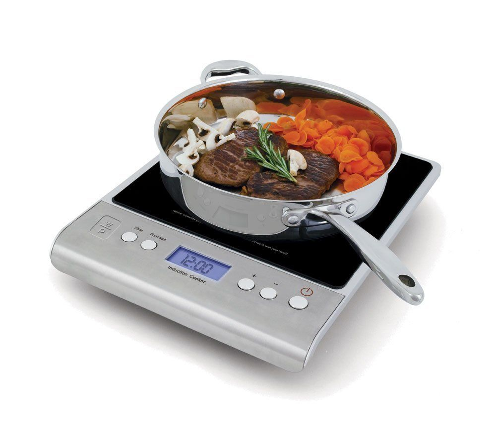 Wolfgang Puck Wpidc010 Portable Induction Simple Operation And