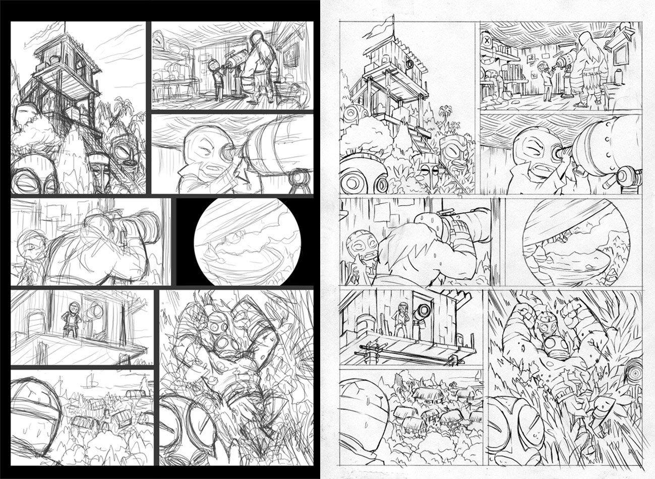 Fabien Mense  Comix    Comic Storyboard And Drawings