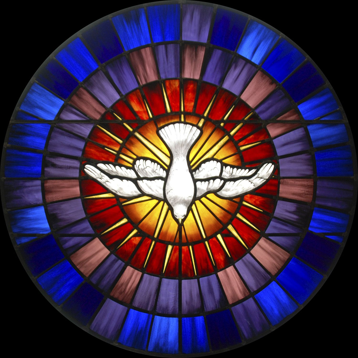 Dove Stained Glass Window Caption Stained Glass Dove
