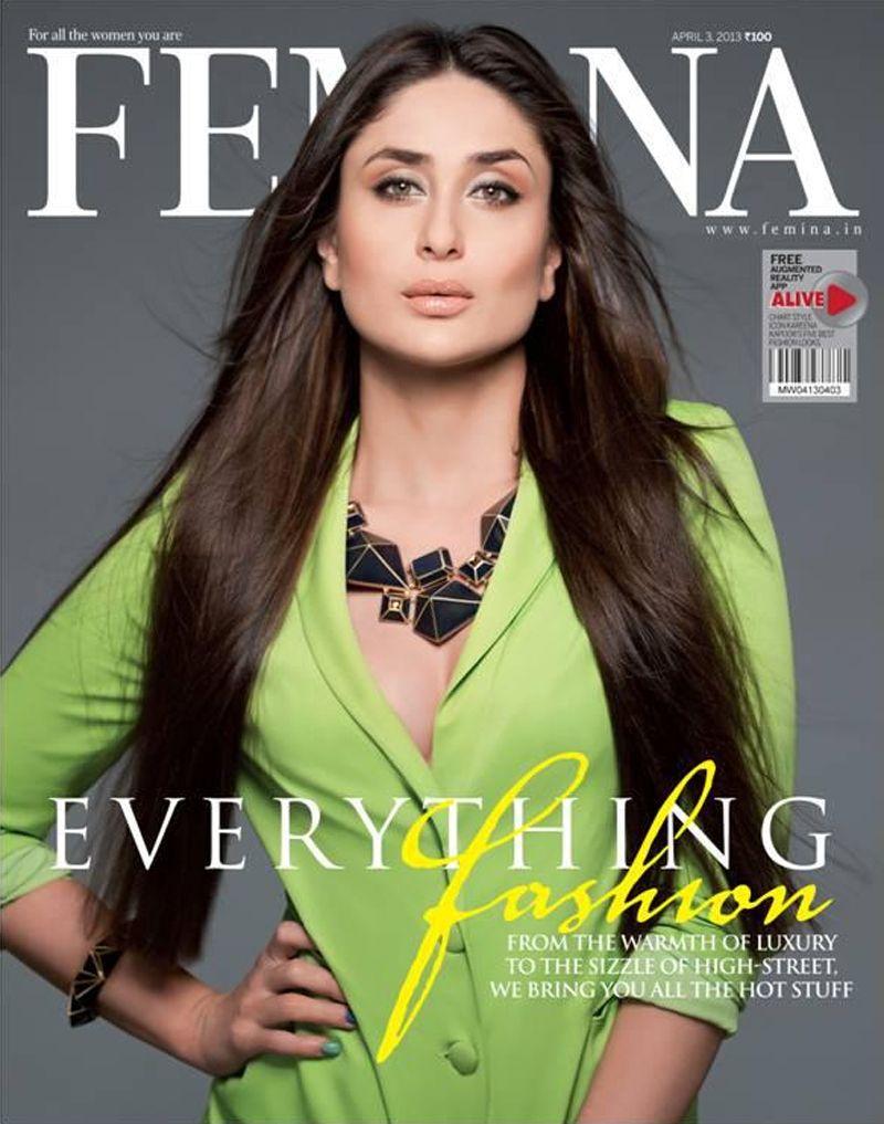 Femina (With images) Bollywood celebrities, Kareena