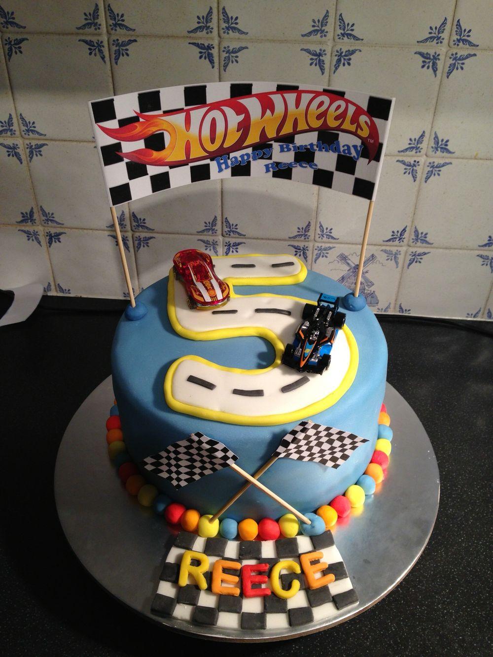 Hot Wheels Cake Hot Wheels Party Hot Wheels Cake Round