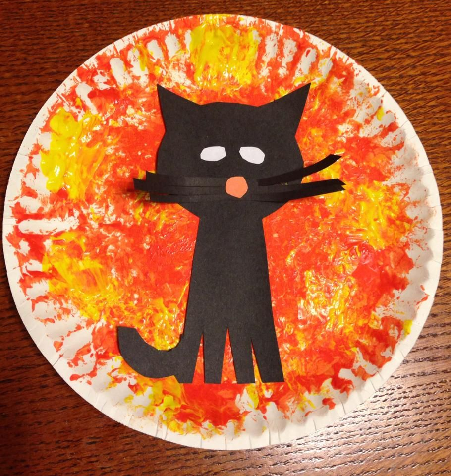 Toddler Cat Halloween Craft | Halloween | Pinterest | Cat, Craft and ...