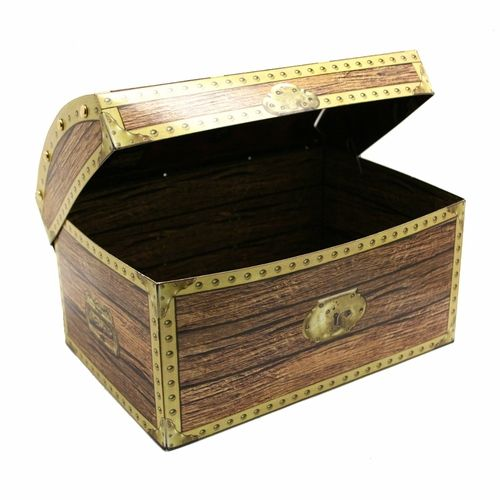 The Pirate Treasure Chest Is A Great Table Centerpiece For Your Party Use This 8 Inch To Hold Cards Or Buried