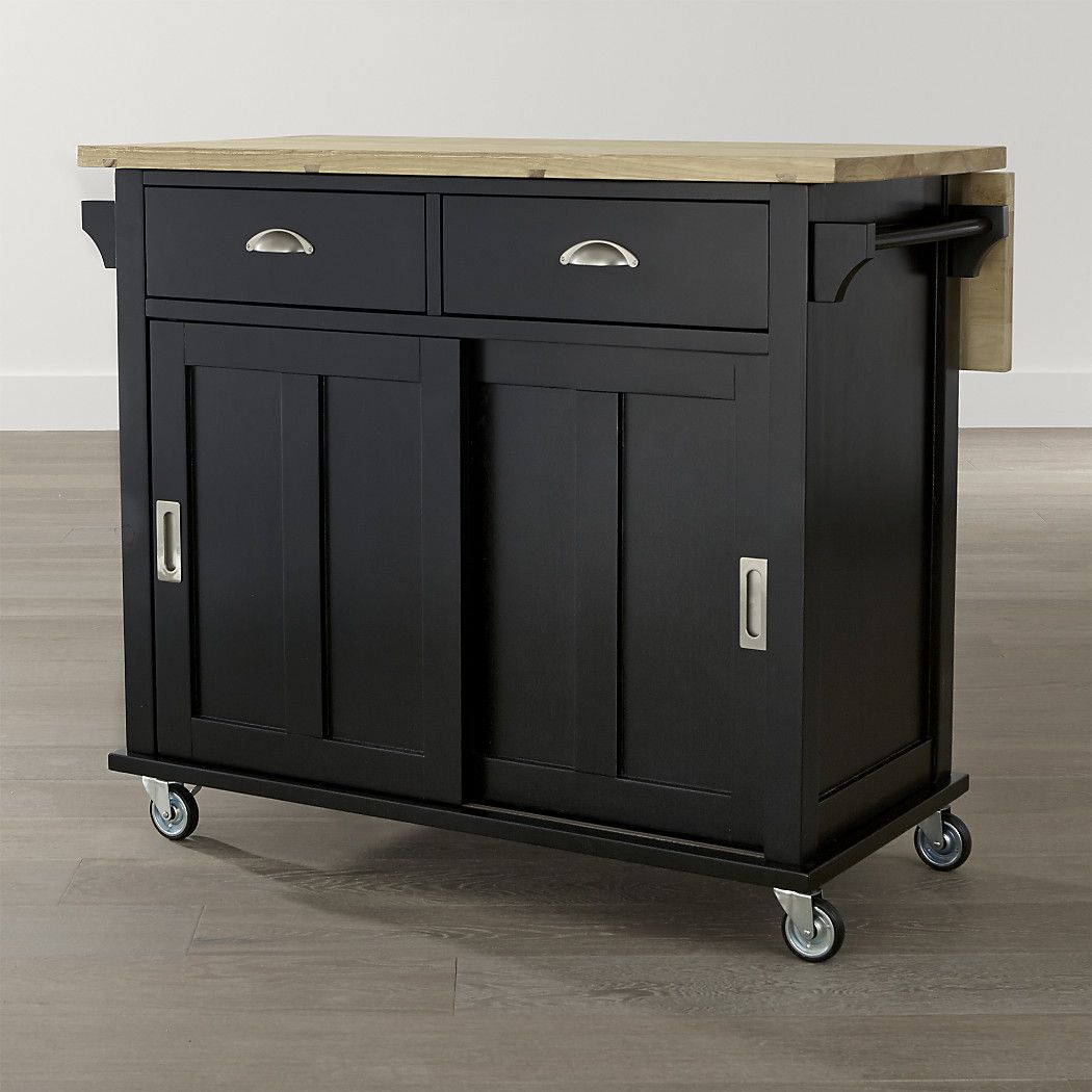 Belmont Black Kitchen Island Reviews Crate And Barrel Black Kitchen Island Moveable Kitchen Island Black Kitchens