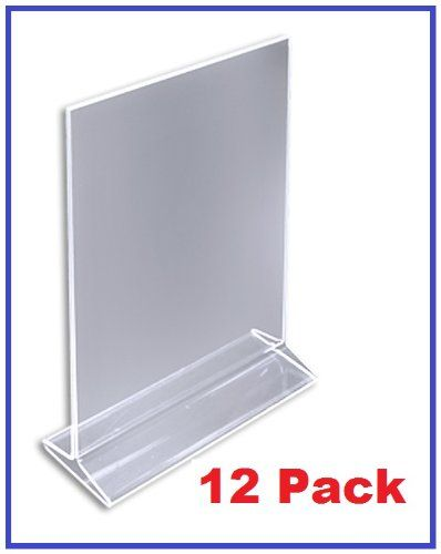 Pack Of 12 4 X 6 Acrylic Sign Holder Clear Table Ca Https Www Amazon Com Dp B00adtnhgm Ref Cm Sw R Pi Dp Uy3n Acrylic Sign Sign Holder Display Cards
