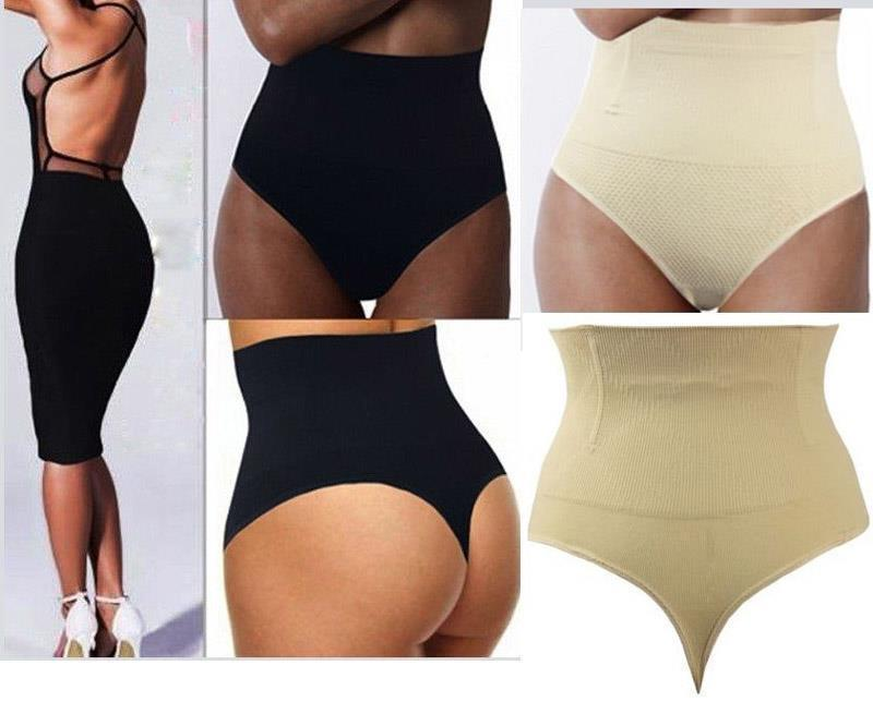 ef697c1082ed0 High Waist Thong G-String Tummy Control Girdle Invisible Body Shaper Briefs  HOT