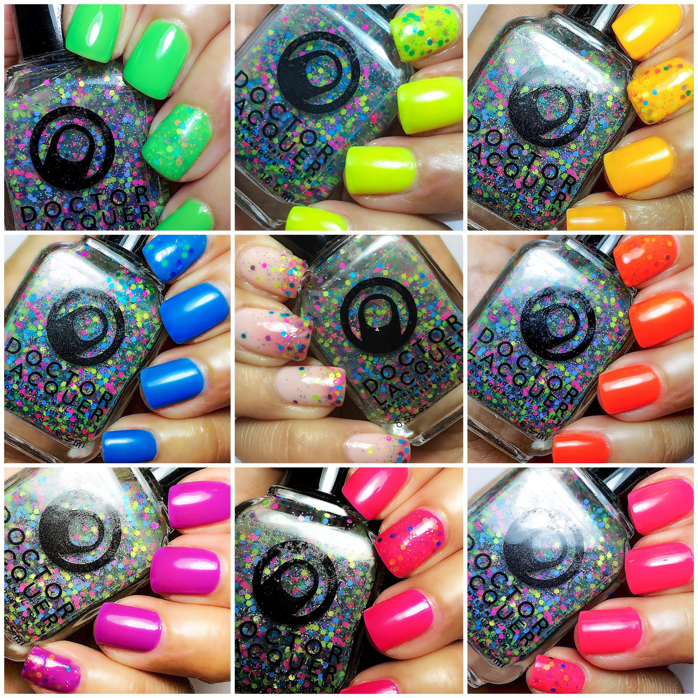Complete: KALEIDOSCOPE WORLD (18-piece: holos & jellies) - by Doctor ...