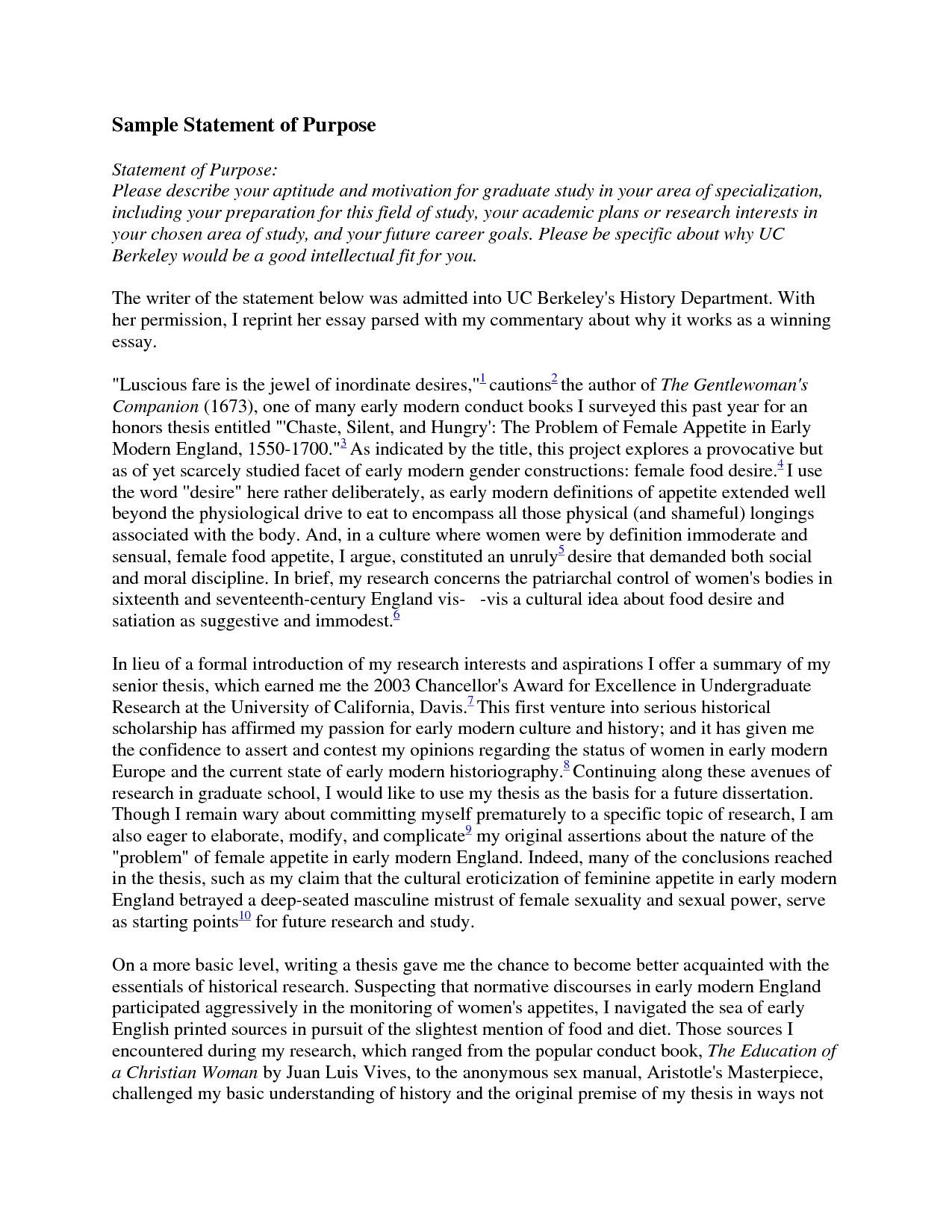 Residency application personal statement. The University of Nebraska ...