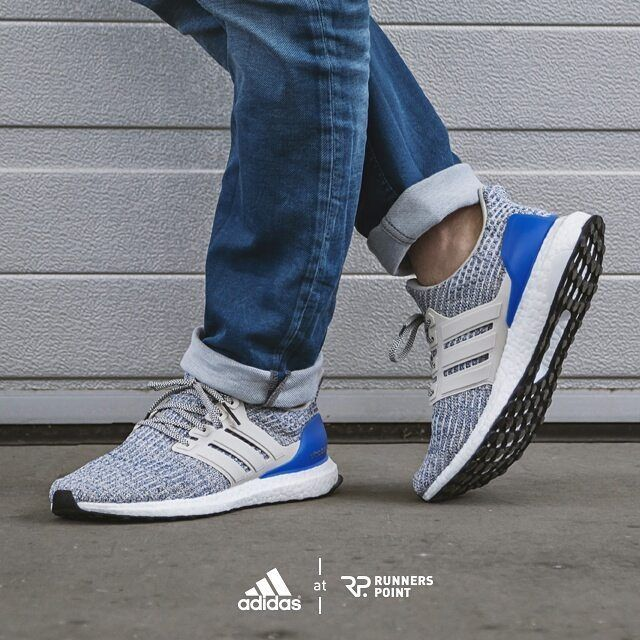adidas Ultra Boost 4.0 Blue Heel | Blue heels, Adidas and Sneakers adidas