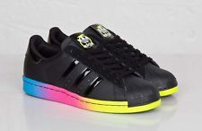 a663c9ec8b9e Womens Adidas Superstar 80s Rainbow Pack Sneakers New