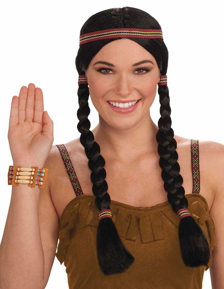 native american princess wig
