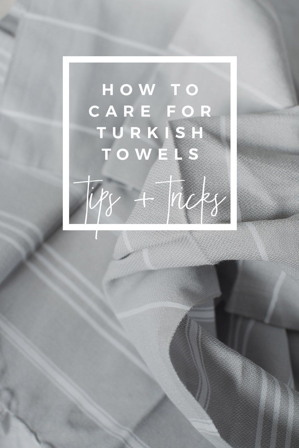 How To Care For Turkish Towels With Images Turkish Towels