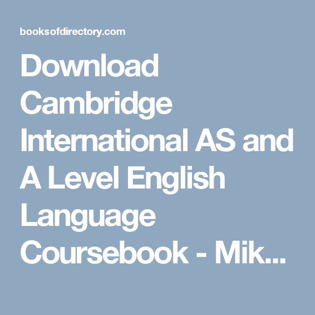 Download mrs funnybones twinkle khanna full books pdf epub mobi pdf english download cambridge international as and a level english language coursebook mike gould full books fandeluxe Image collections