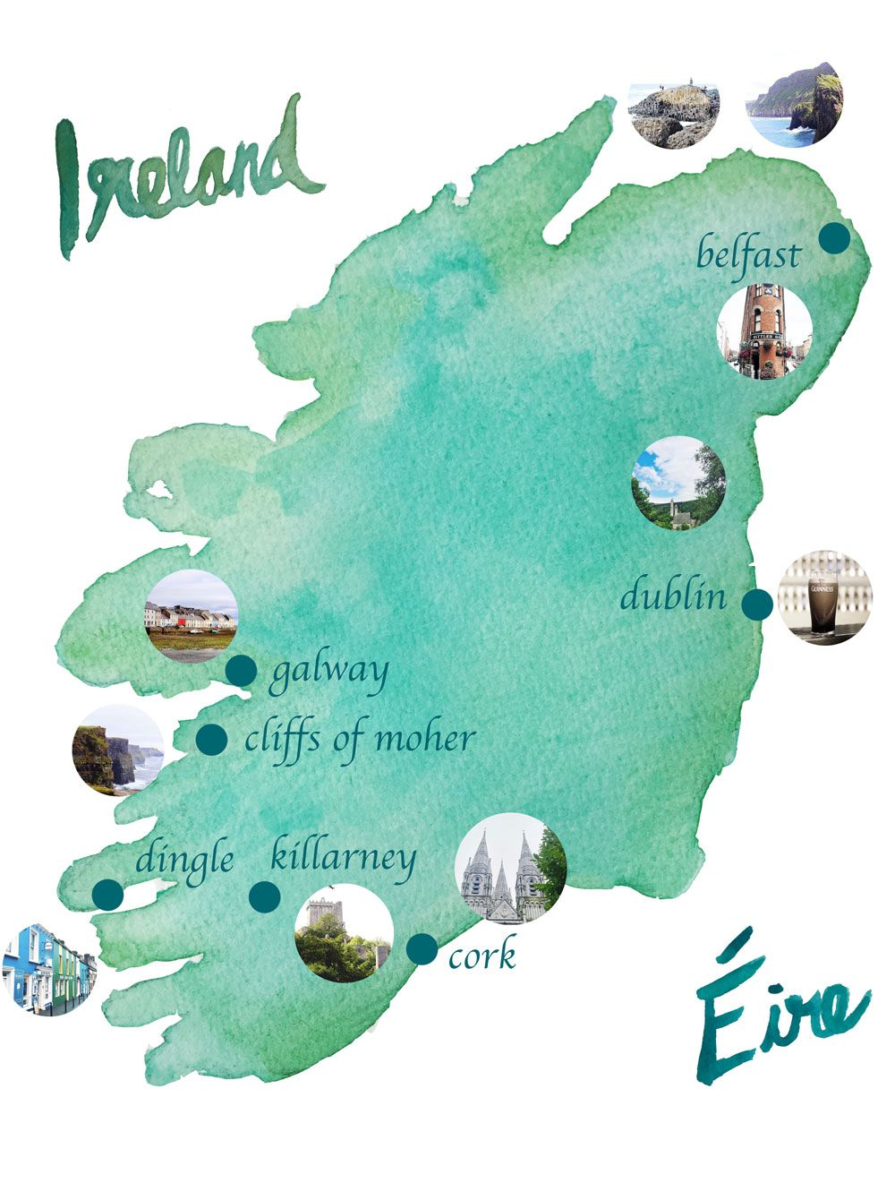Galway Bay Ireland Map.Eirinn Go Brach Dublin Ireland Pinterest Galway Ireland