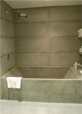 Concrete Tub Shower Tubs And Showers Stone Soup Easthampton Ma
