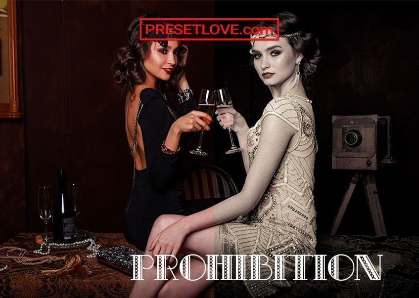 Prohibition Vintage Lightroom Preset for Mobile and
