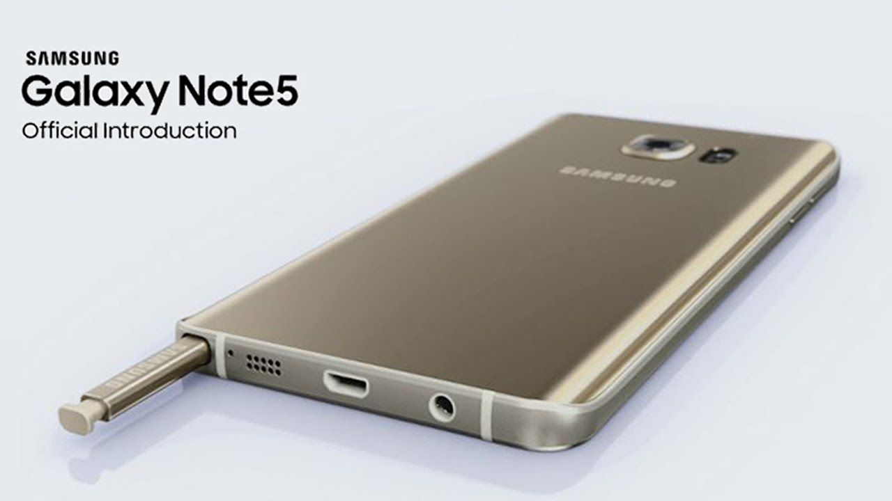 Samsung Galaxy Note5 Official Introduction Samsung Galaxy Note 5 Samsung Galaxy