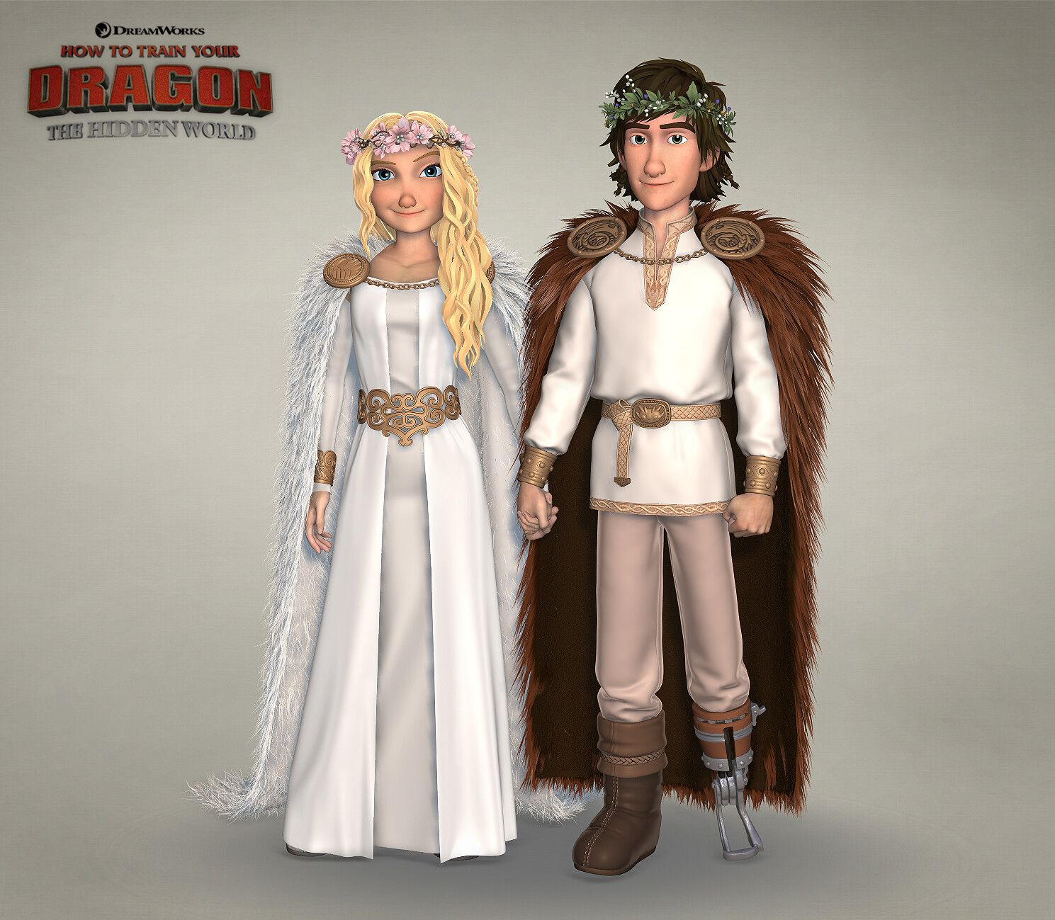 Hiccup Astrid S Wedding Dresses Min Yu Chang On Artstation At Https Www Artstation Com Artwork 4bke2q How To Train Your Dragon How Train Your Dragon Httyd