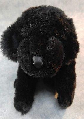 Jaag Black Lab Labrador Rettiever Puppy Dog Plush Stuffed Toy