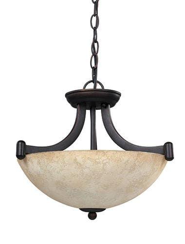 Patriot Lighting Elegant Home Blake 5 Light Semi Flush Ceiling