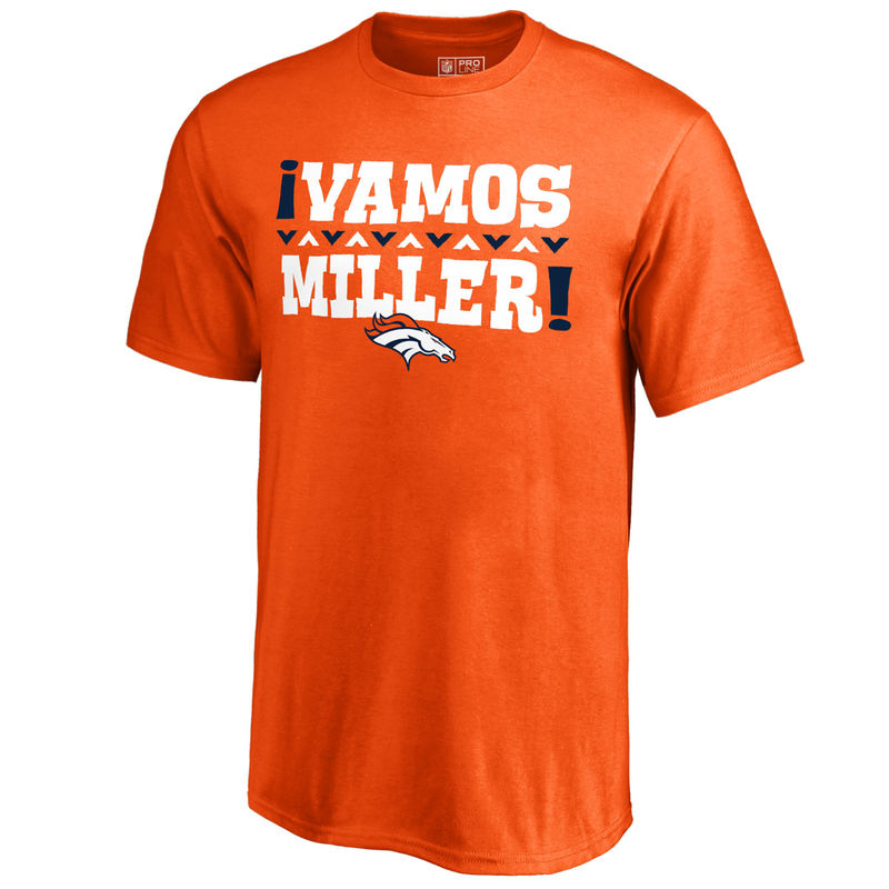watch f1a81 1cc58 Von Miller Denver Broncos NFL Pro Line by Fanatics Branded ...