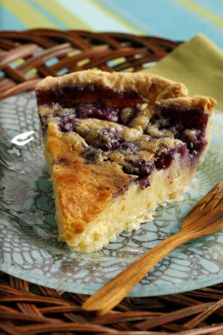 """Randy's Blueberry Buttermilk Pie """"I love this pie because, for me, it evokes a memory of the South. It is a comforting pie that is delicious."""