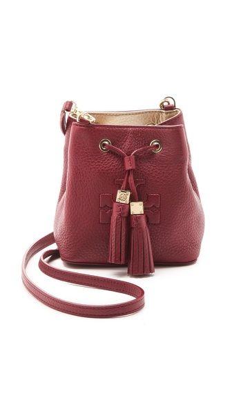 ea7d0b7e3d1a Tory Burch Thea Mini Bucket Cross Body Bag