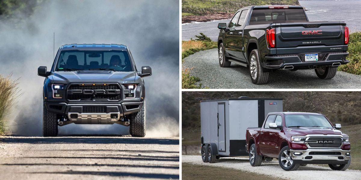 2019 And 2020 Full Size Pickup Truck Rankings Full Size Pickup