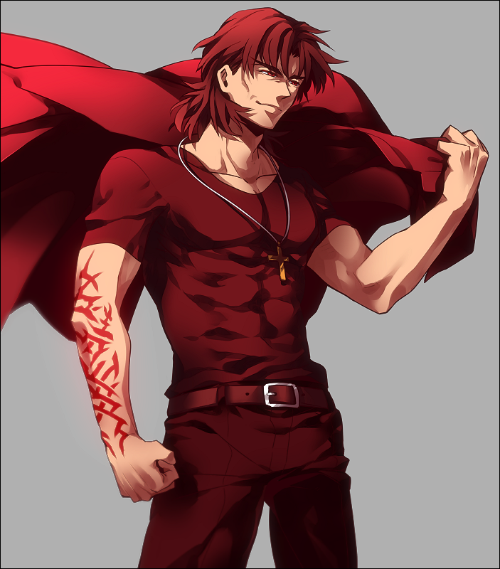 Muscular Kotomine Fate Series Pinterest Fate Stay