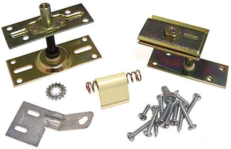 STANLEY BF125N-31 Top and Bottom Pivot Set Brass Tones Door Hinge Pivot