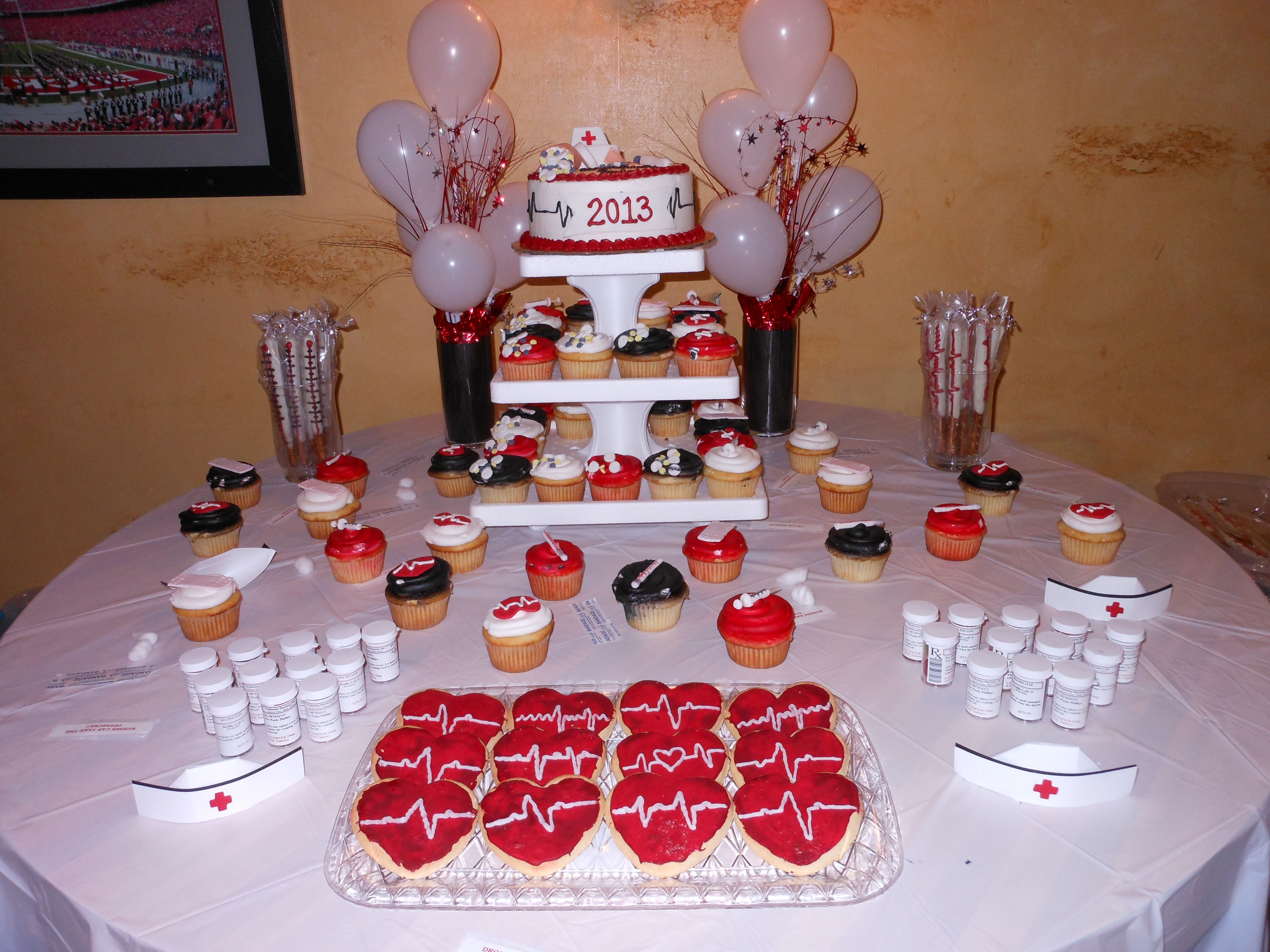 Med school acceptance party   Nursing graduation party