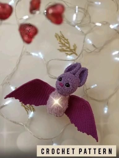 Amigurumi pattern bat / Bat crochet pattern / Bat