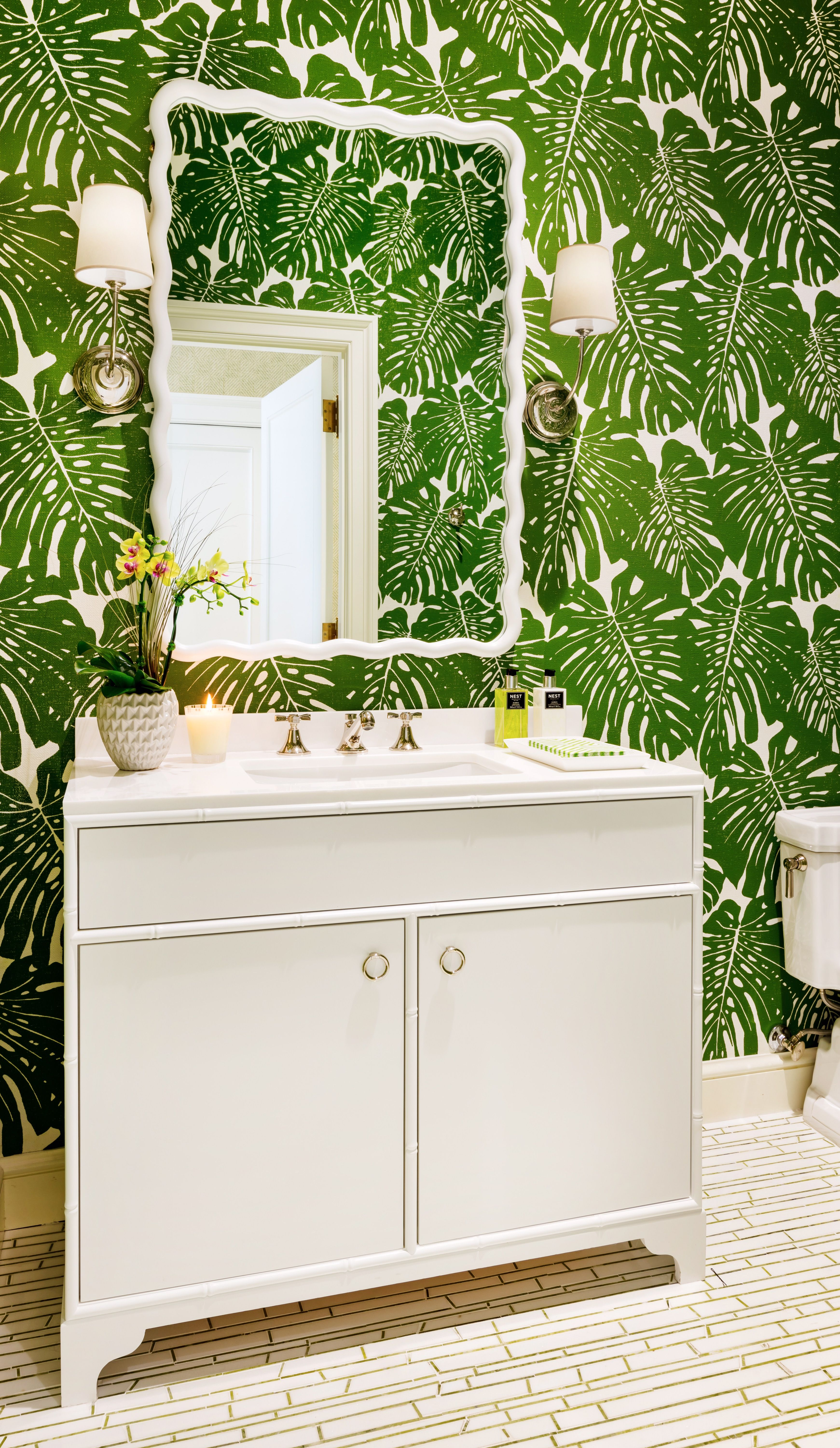 Powder Room By Amy Kartheiser Design: Pin By HIVE Collective On BATH