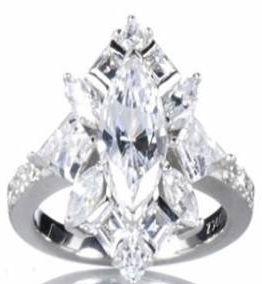 Victoria Beckman's ring. $65,000.