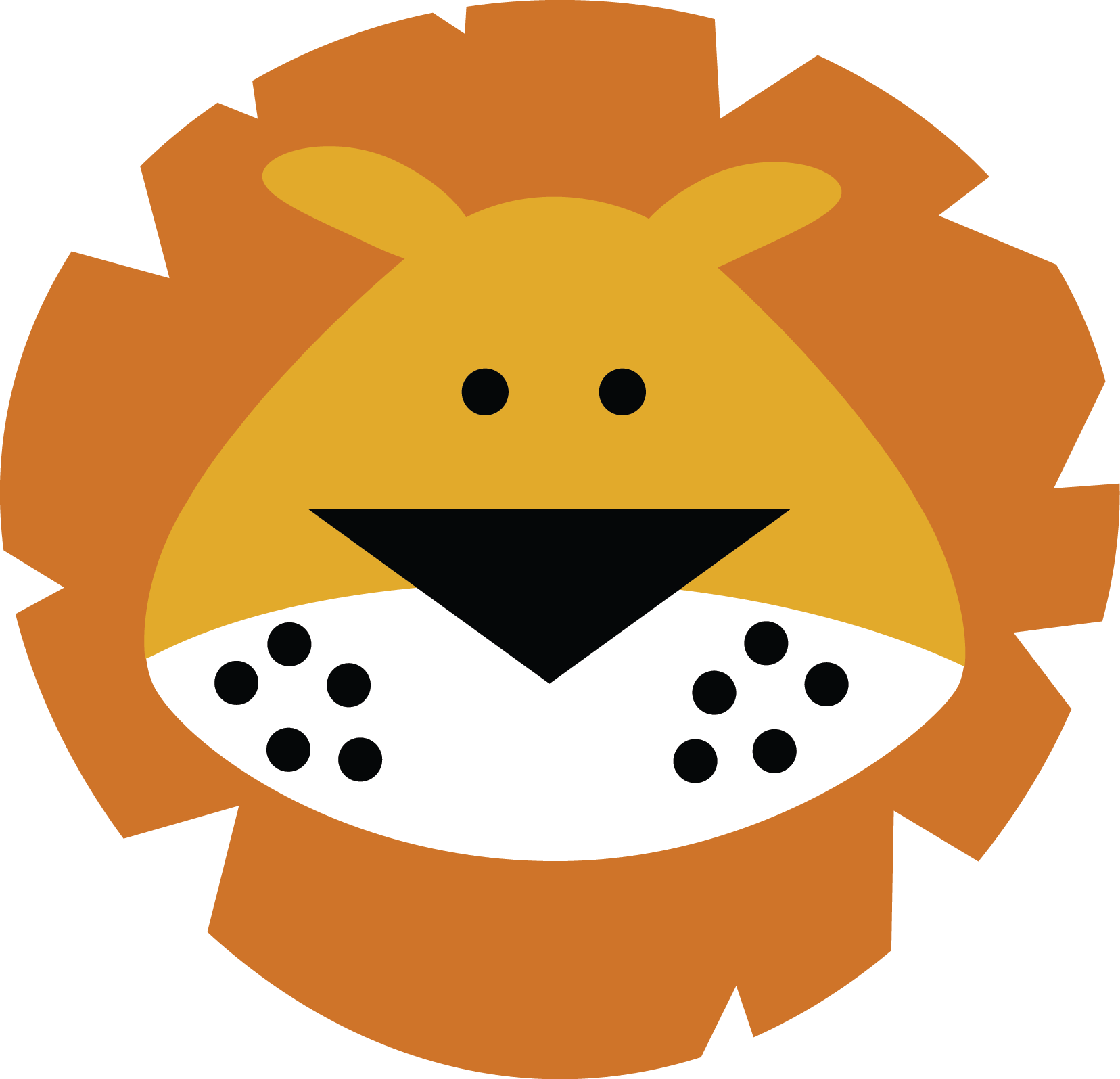 lion face miss kate cuttables scrapbook animals pinterest rh pinterest com lion face drawing clipart cartoon lion face clipart