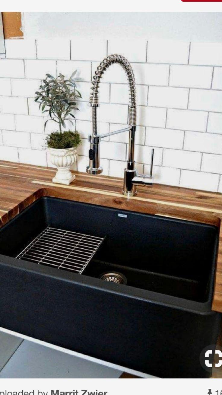 Küchenideen bauernhaus home decorating ideas cozy black farmhouse sink  true