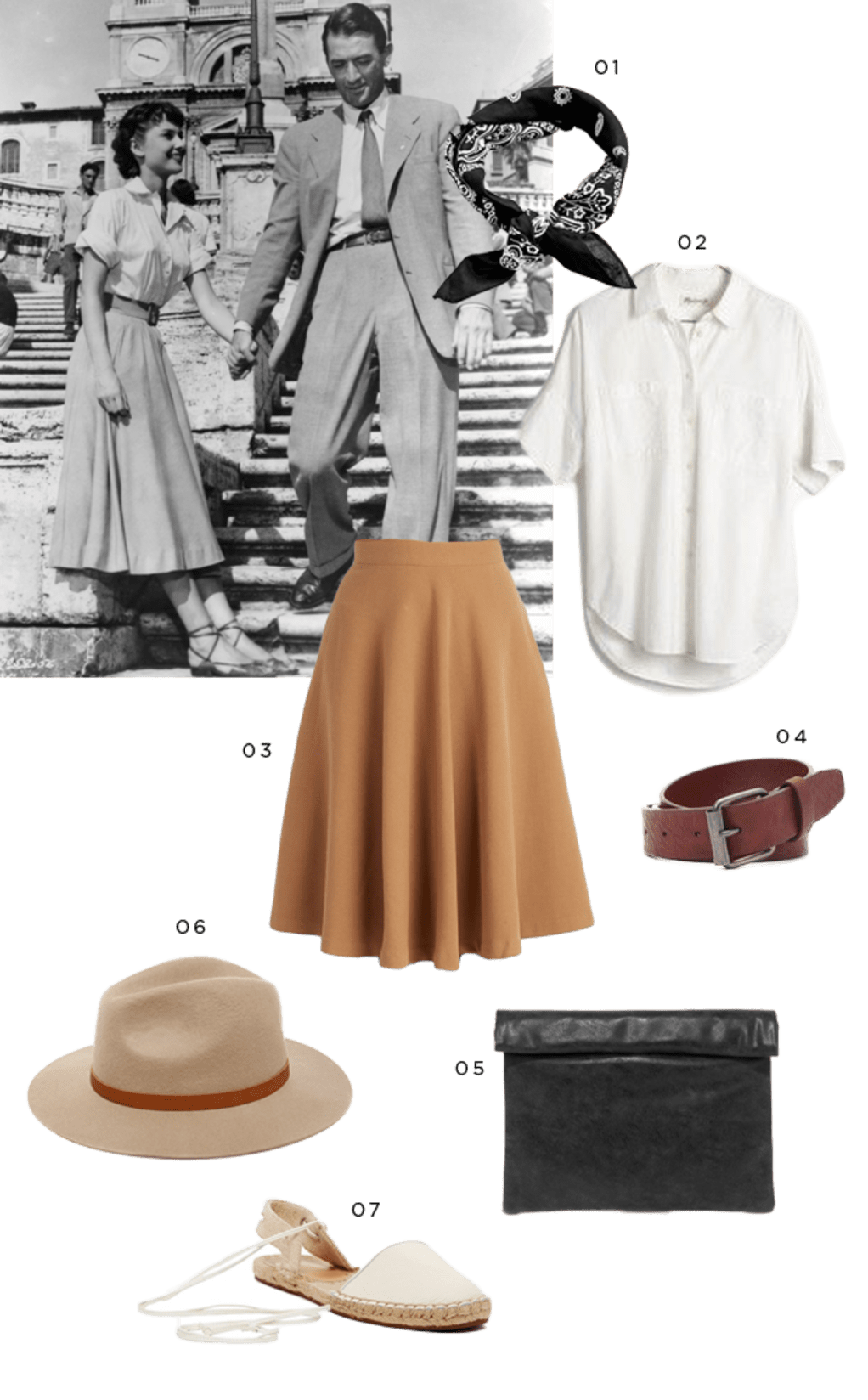 Audrey Hepburn–Inspired Outfits for the Modern Woman